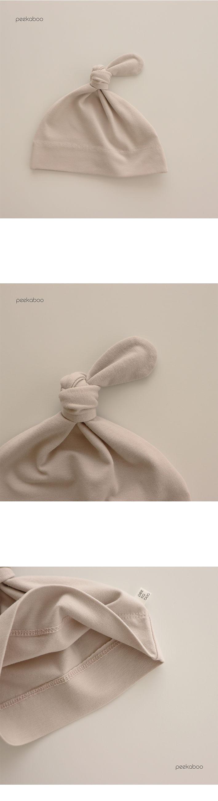 PEEKABOO - Korean Children Fashion - #Kfashion4kids - Modal Knot Hats - 2