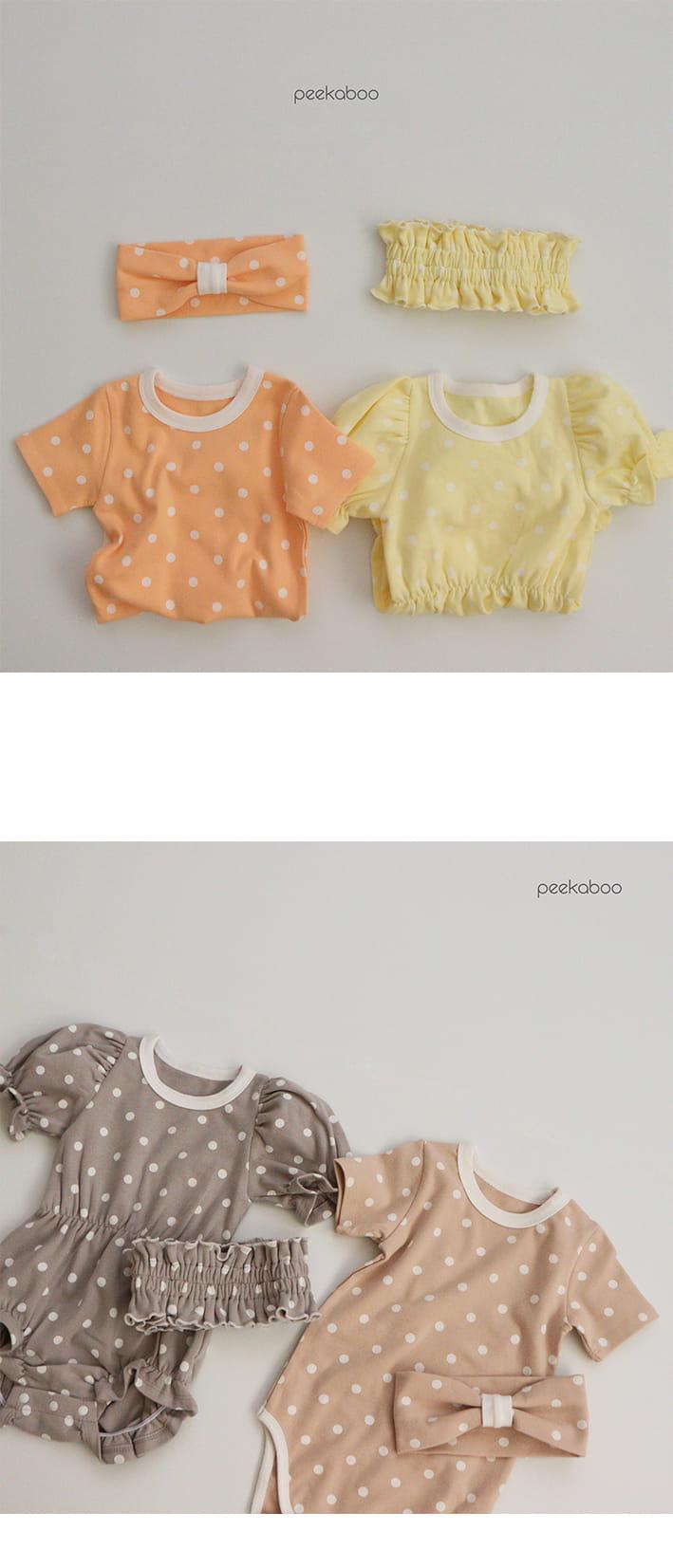 PEEKABOO - Korean Children Fashion - #Kfashion4kids - Bubble Bodysuit - 2