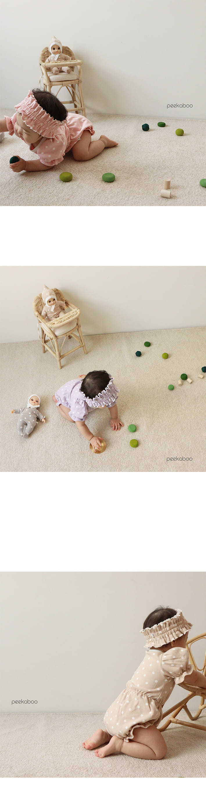 PEEKABOO - Korean Children Fashion - #Kfashion4kids - Bubble Bodysuit - 4