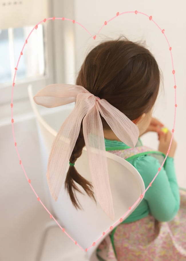 PINSON - Korean Children Fashion - #Kfashion4kids - Shy Hairring