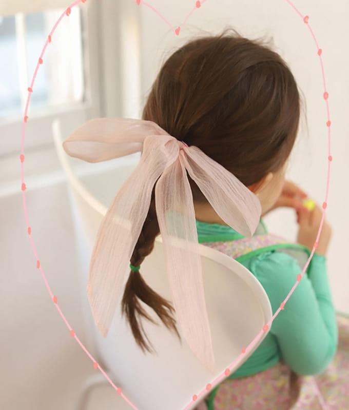 PINSON - BRAND - Korean Children Fashion - #Kfashion4kids - Shy Hairring