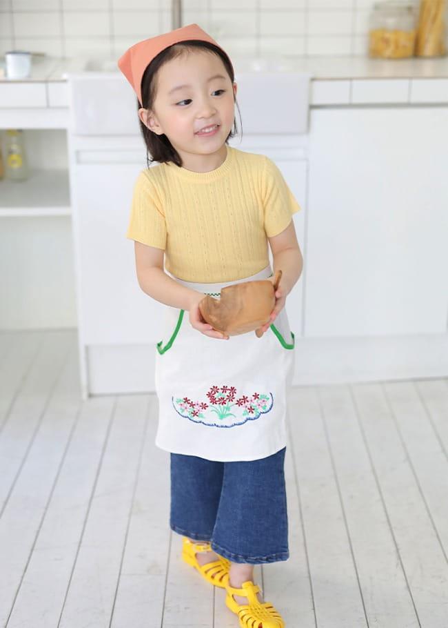 PINSON - Korean Children Fashion - #Kfashion4kids - Lovely Apron