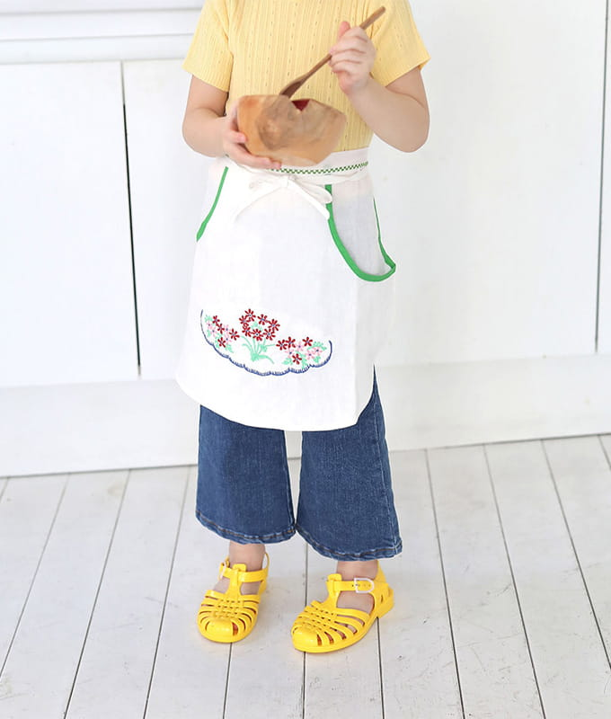 PINSON - BRAND - Korean Children Fashion - #Kfashion4kids - Lovely Apron