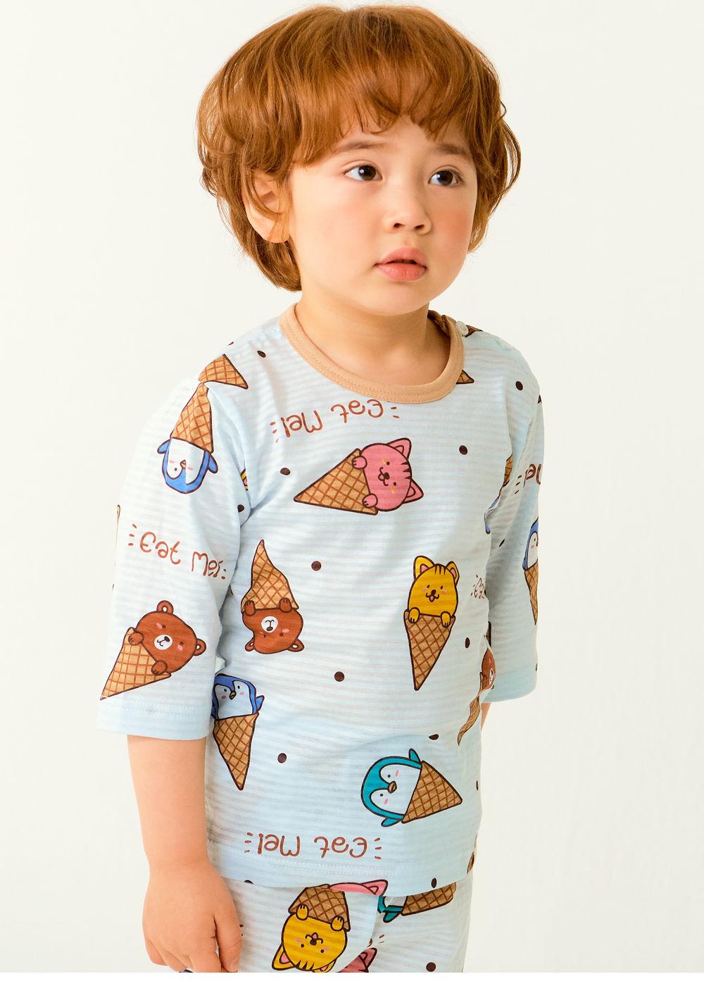 TTASOM - Korean Children Fashion - #Kfashion4kids - Animal Corn Easywear - 2
