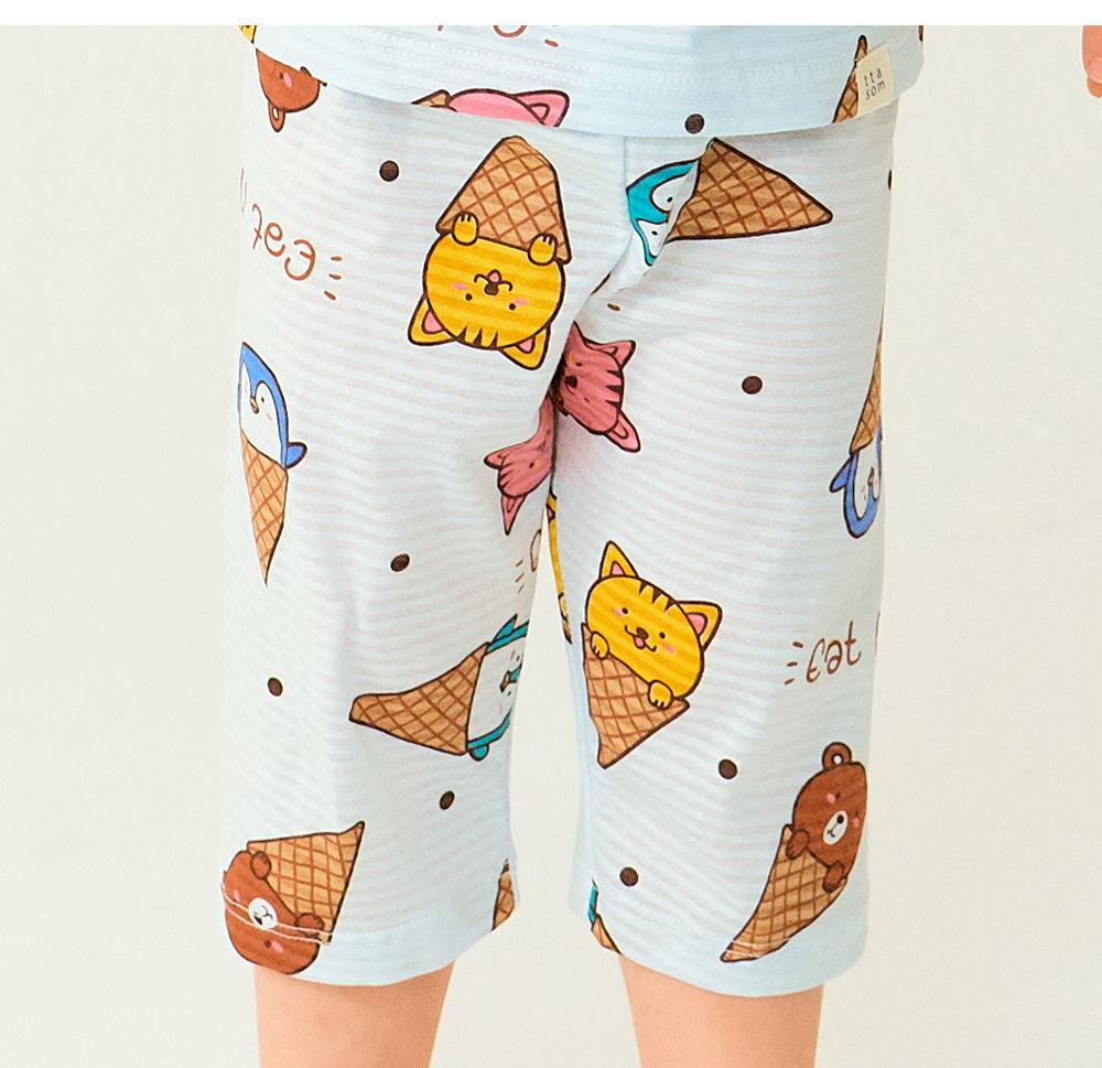 TTASOM - Korean Children Fashion - #Kfashion4kids - Animal Corn Easywear - 3