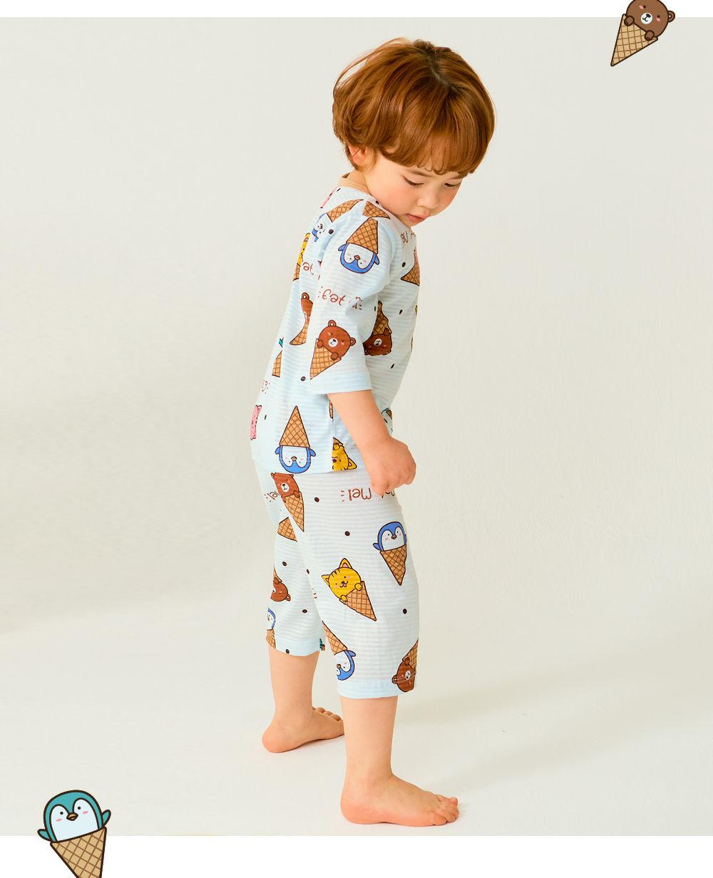 TTASOM - Korean Children Fashion - #Kfashion4kids - Animal Corn Easywear - 4