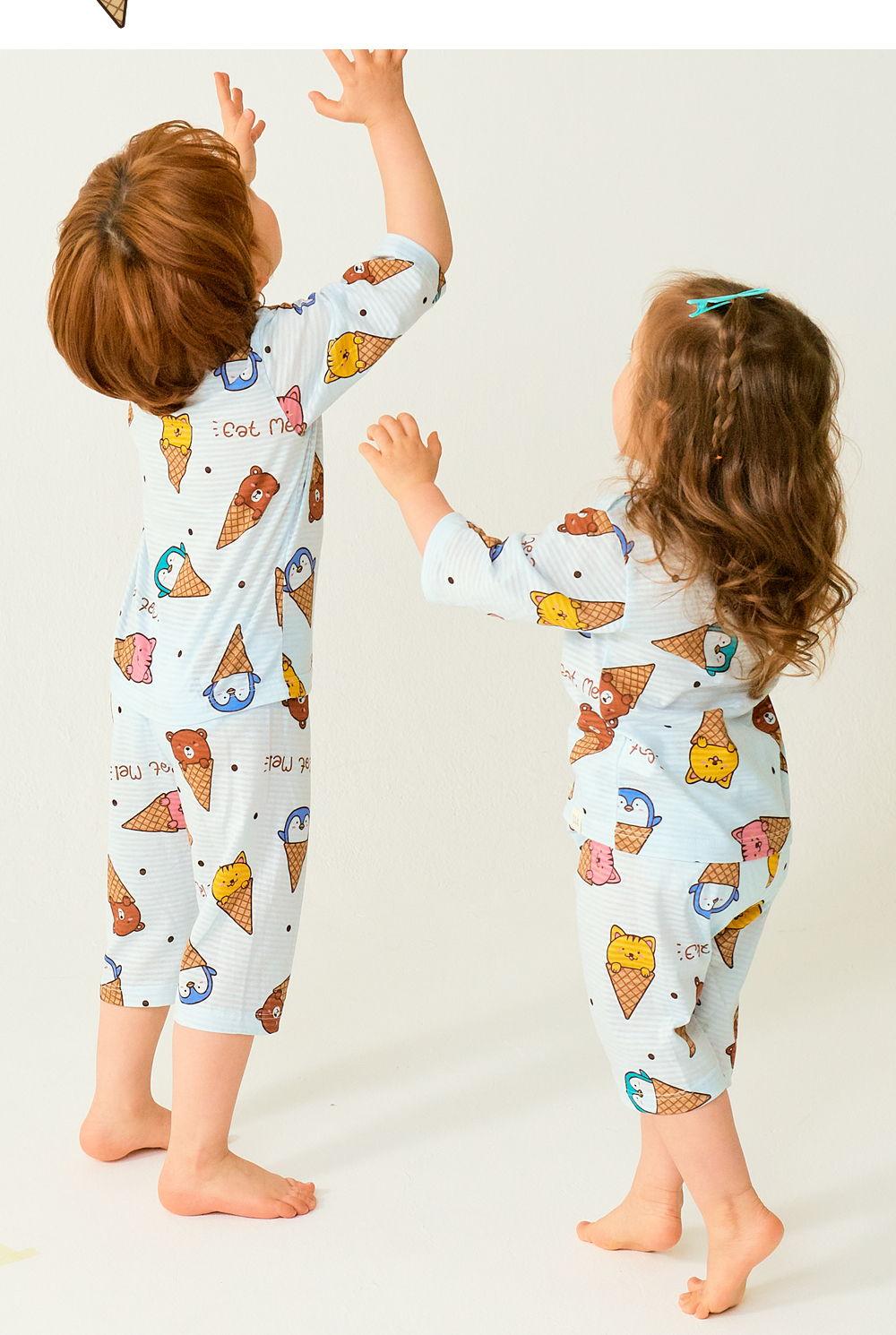 TTASOM - Korean Children Fashion - #Kfashion4kids - Animal Corn Easywear - 5