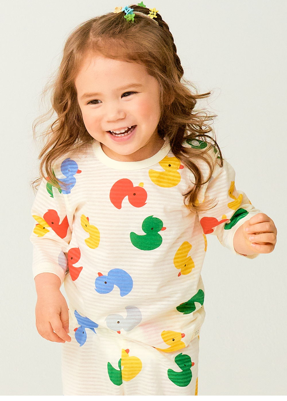 TTASOM - Korean Children Fashion - #Kfashion4kids - Mini Duck Easywear - 3