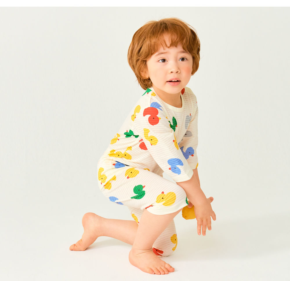 TTASOM - Korean Children Fashion - #Kfashion4kids - Mini Duck Easywear - 4