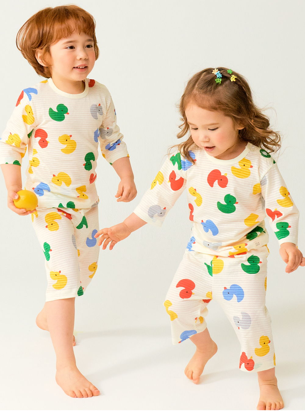 TTASOM - Korean Children Fashion - #Kfashion4kids - Mini Duck Easywear - 5