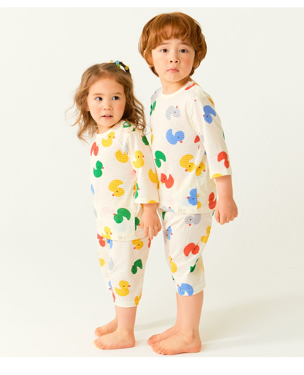 TTASOM - Korean Children Fashion - #Kfashion4kids - Mini Duck Easywear - 6