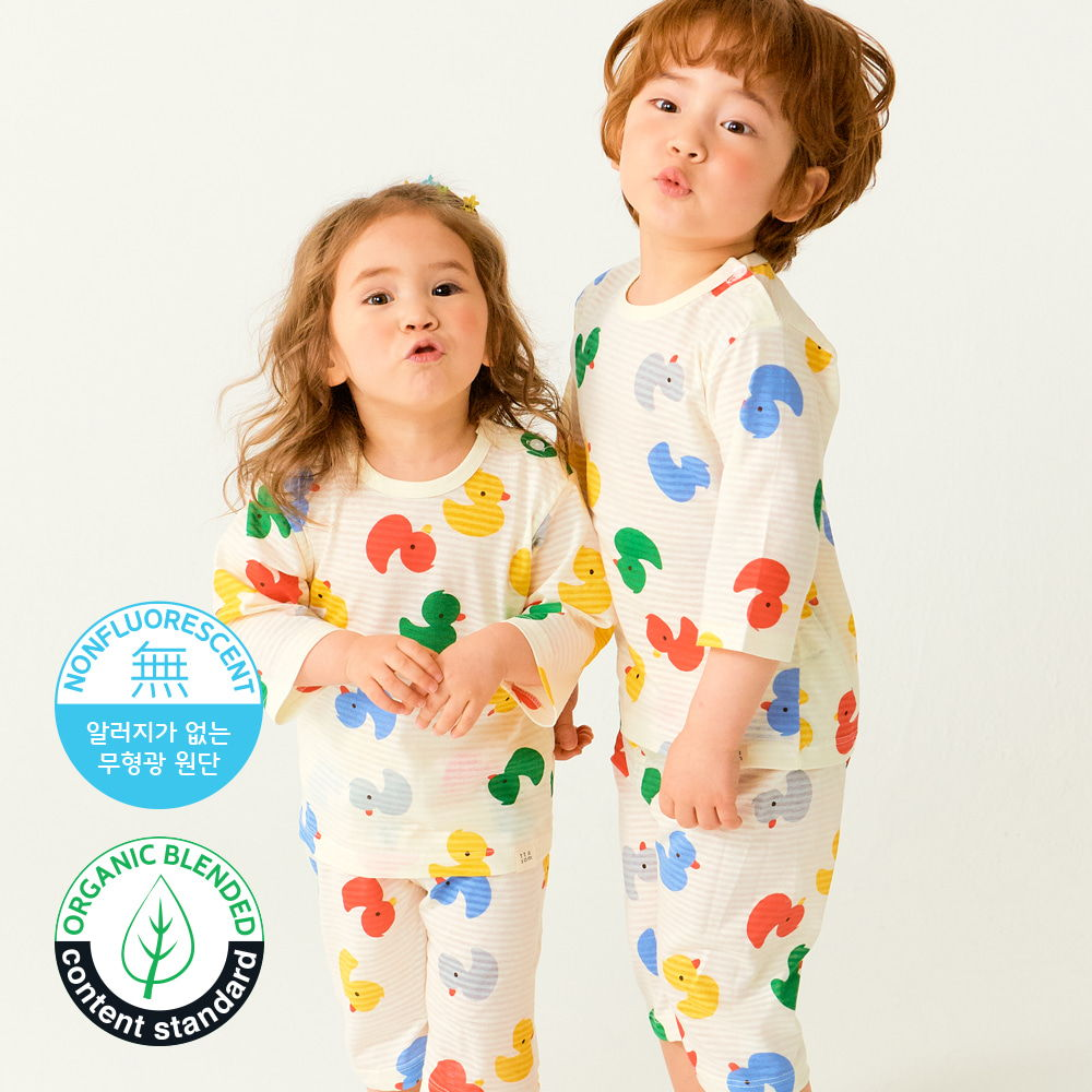 TTASOM - BRAND - Korean Children Fashion - #Kfashion4kids - Mini Duck Easywear