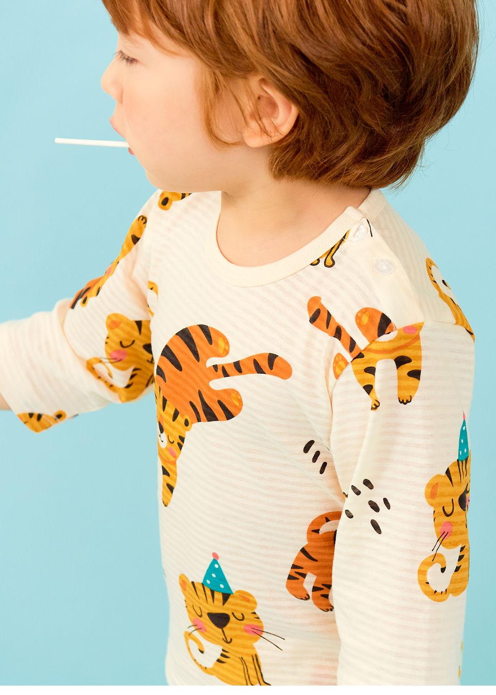 TTASOM - Korean Children Fashion - #Kfashion4kids - Tiger Easywear - 3