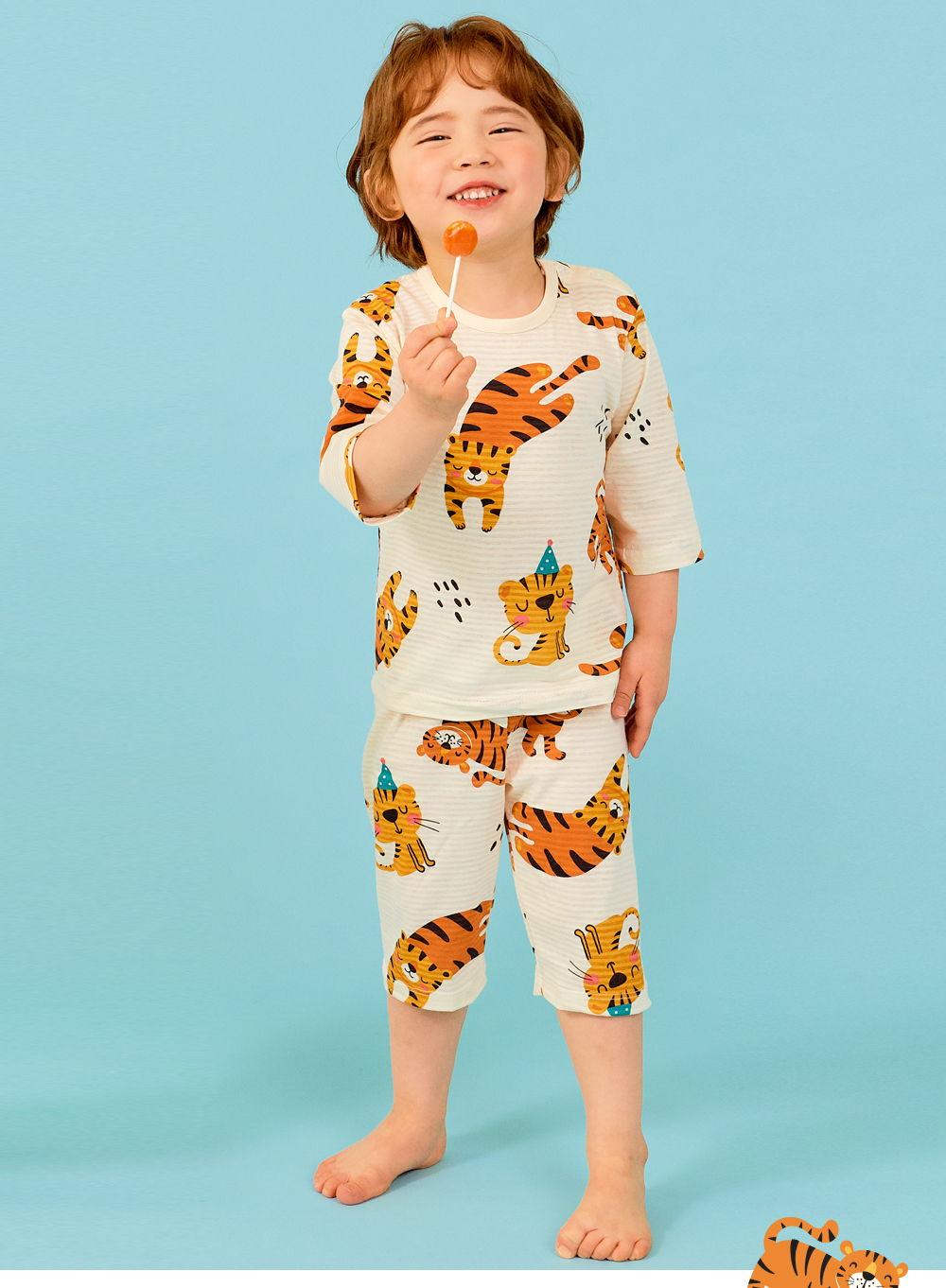 TTASOM - Korean Children Fashion - #Kfashion4kids - Tiger Easywear - 5