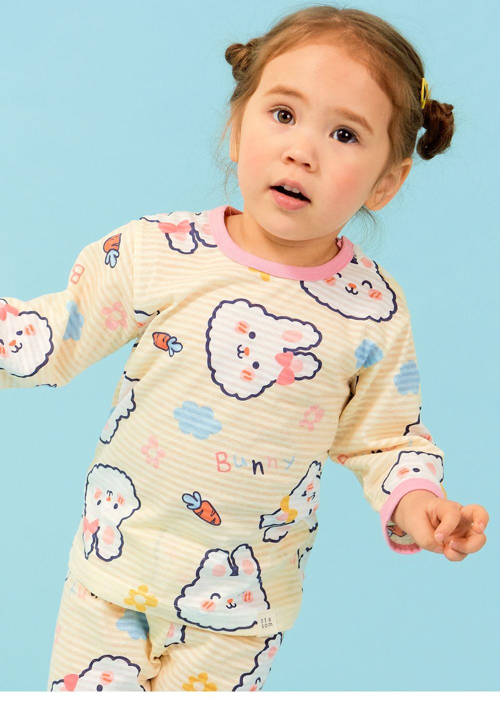 TTASOM - Korean Children Fashion - #Kfashion4kids - Soft Rabbit Easywear - 3