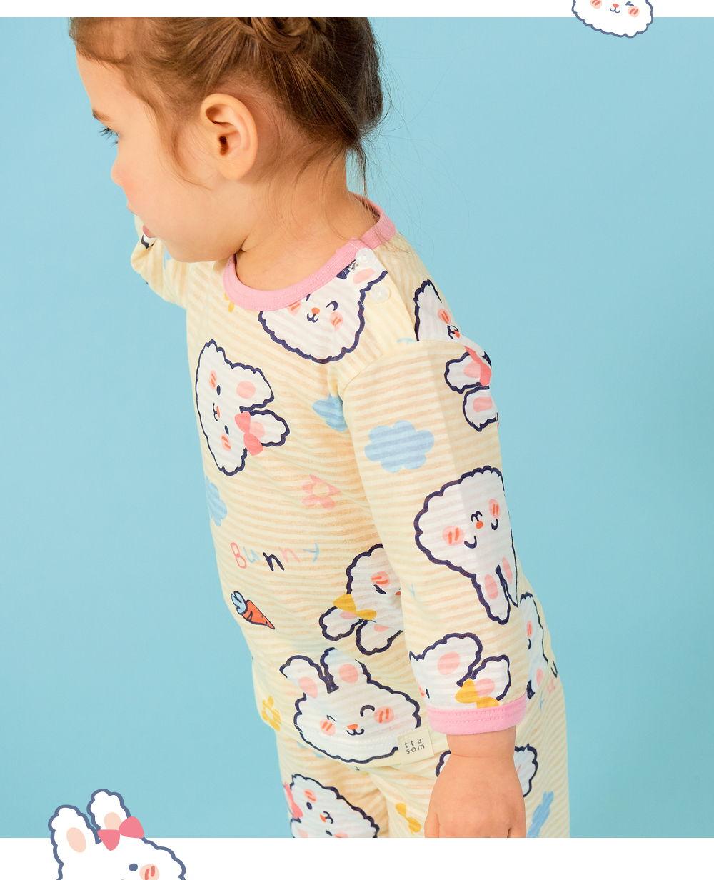 TTASOM - Korean Children Fashion - #Kfashion4kids - Soft Rabbit Easywear - 6