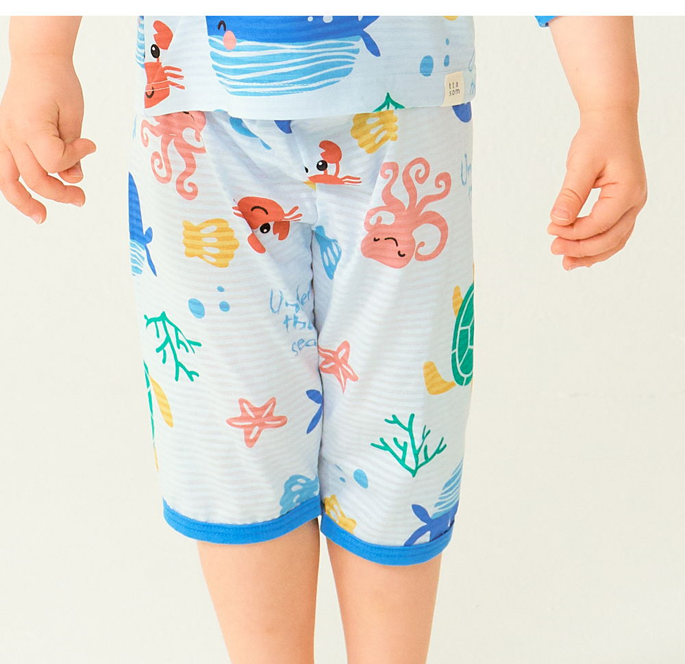 TTASOM - Korean Children Fashion - #Kfashion4kids - Ocean Animal Easywear - 4