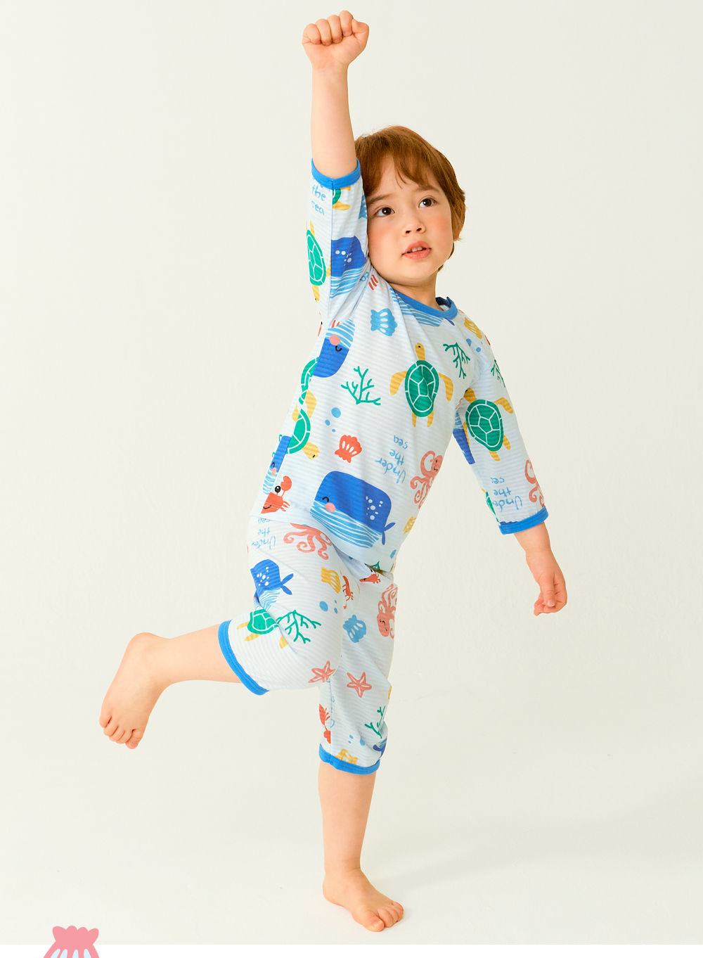 TTASOM - Korean Children Fashion - #Kfashion4kids - Ocean Animal Easywear - 5