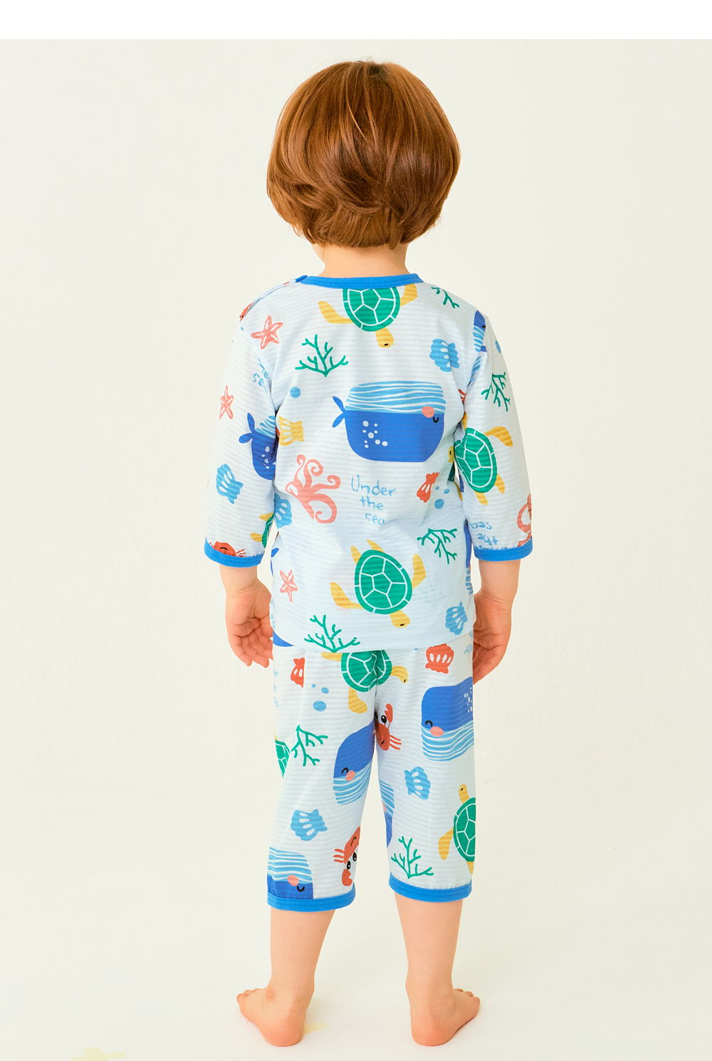 TTASOM - Korean Children Fashion - #Kfashion4kids - Ocean Animal Easywear - 7