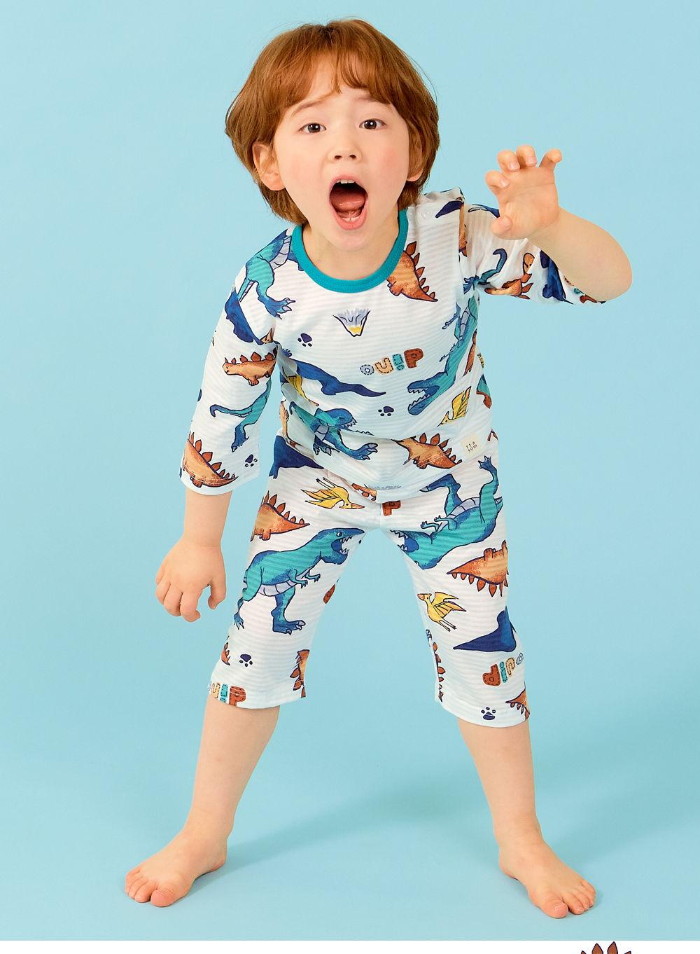 TTASOM - Korean Children Fashion - #Kfashion4kids - Find Dinosaur Easywear - 5