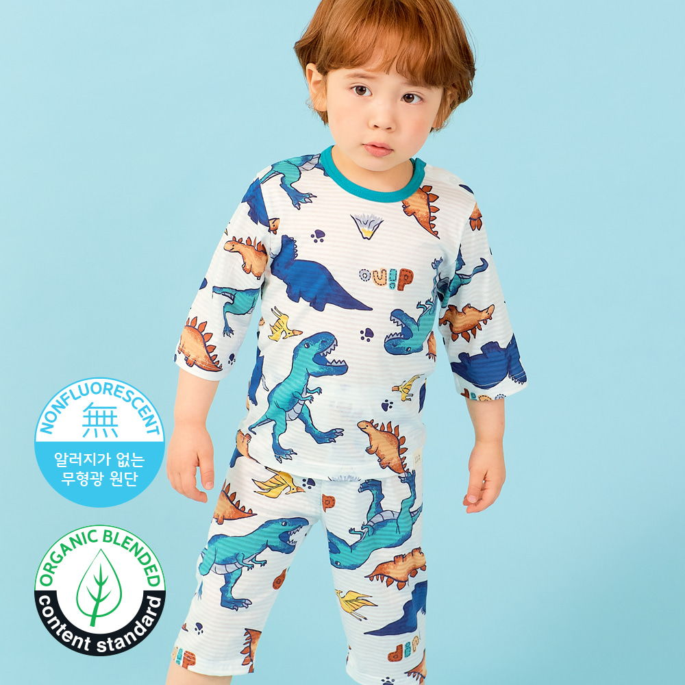 TTASOM - BRAND - Korean Children Fashion - #Kfashion4kids - Find Dinosaur Easywear