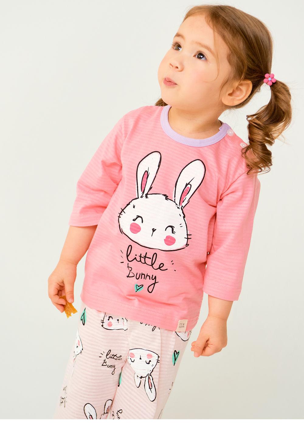 TTASOM - Korean Children Fashion - #Kfashion4kids - Smile Bunny Easywear - 3