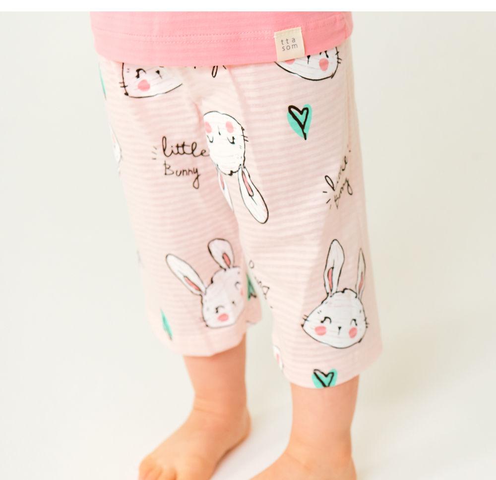 TTASOM - Korean Children Fashion - #Kfashion4kids - Smile Bunny Easywear - 4
