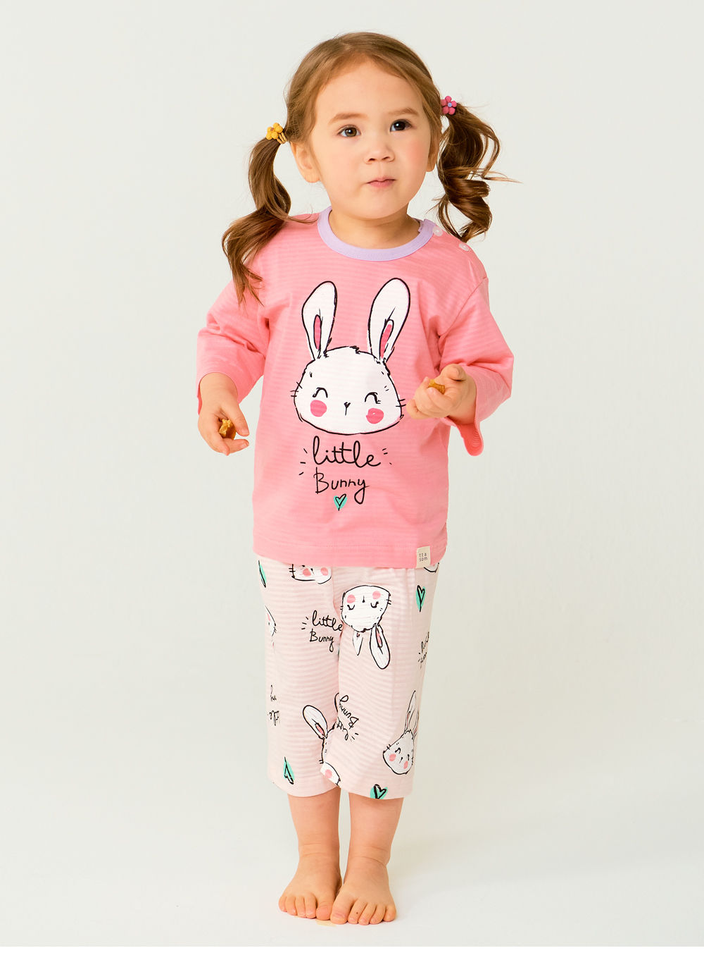 TTASOM - Korean Children Fashion - #Kfashion4kids - Smile Bunny Easywear - 5