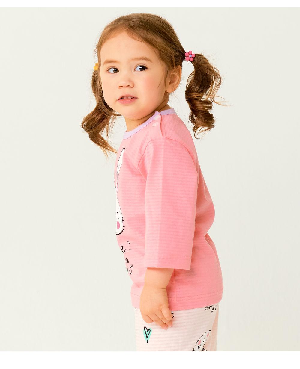TTASOM - Korean Children Fashion - #Kfashion4kids - Smile Bunny Easywear - 6