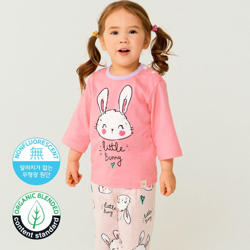 TTASOM - BRAND - Korean Children Fashion - #Kfashion4kids - Smile Bunny Easywear