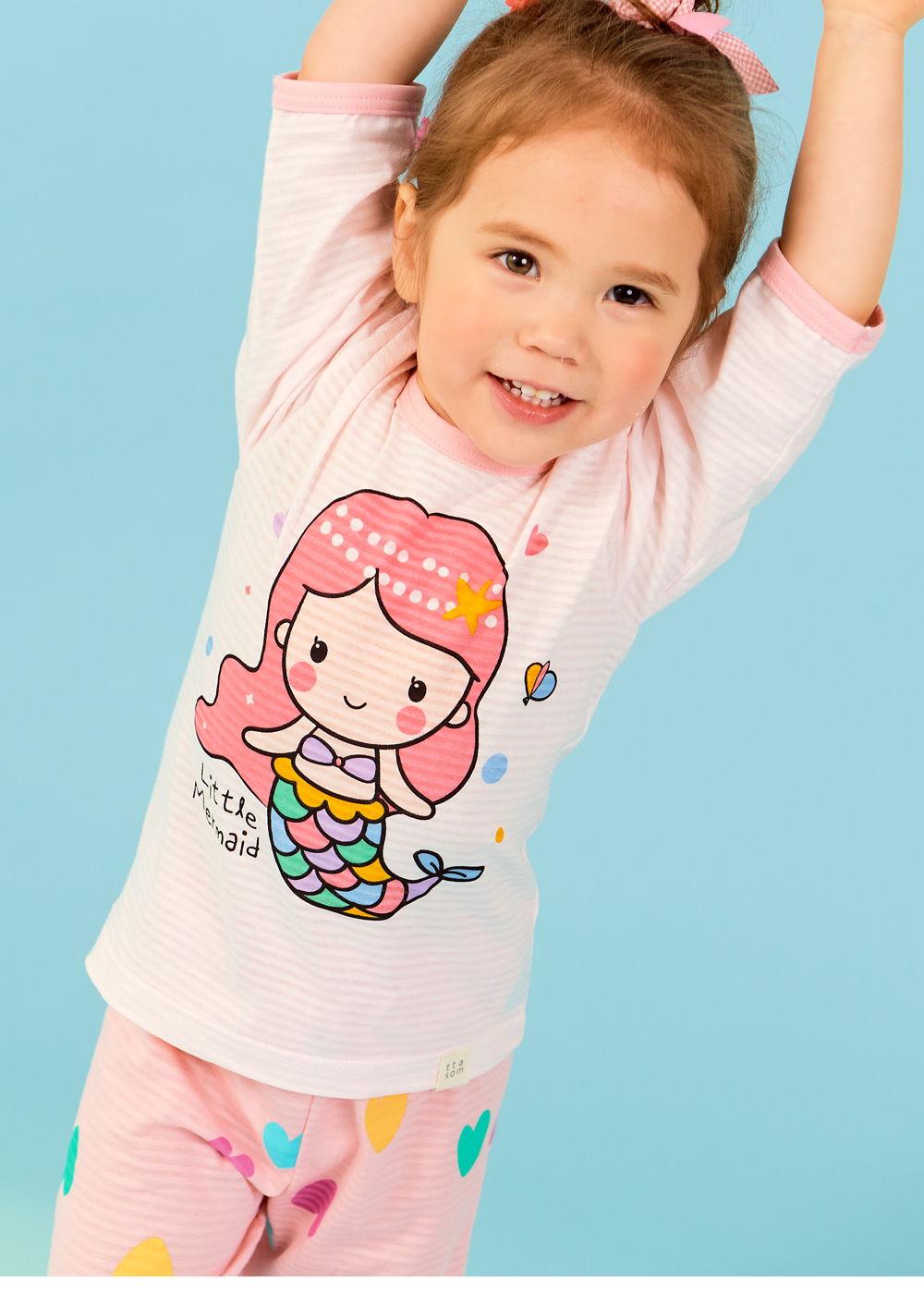 TTASOM - Korean Children Fashion - #Kfashion4kids - Heart Mermaid Easywear - 3