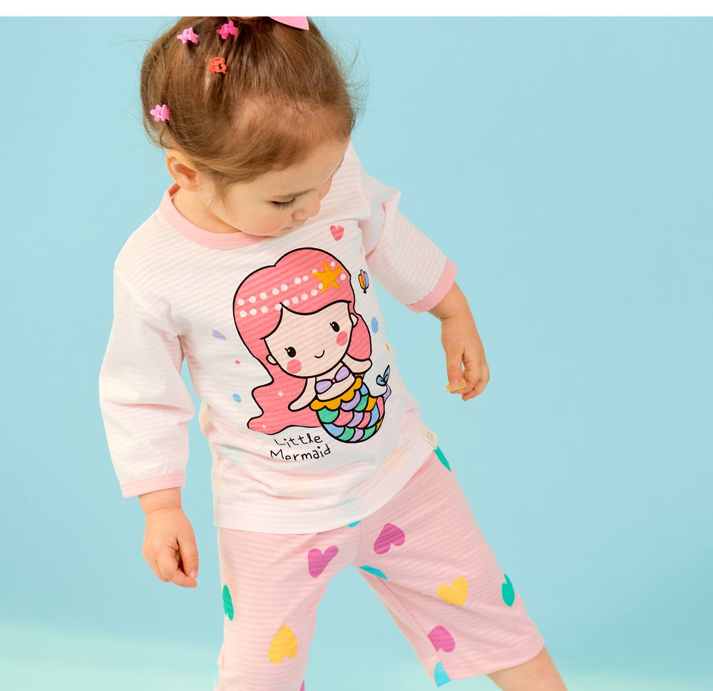 TTASOM - Korean Children Fashion - #Kfashion4kids - Heart Mermaid Easywear - 4
