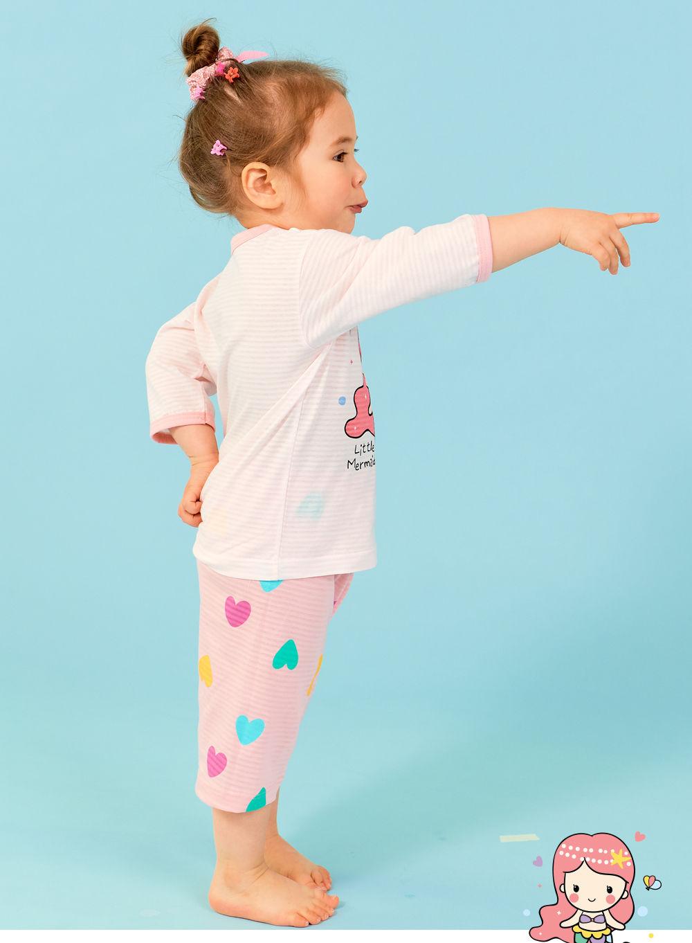 TTASOM - Korean Children Fashion - #Kfashion4kids - Heart Mermaid Easywear - 5
