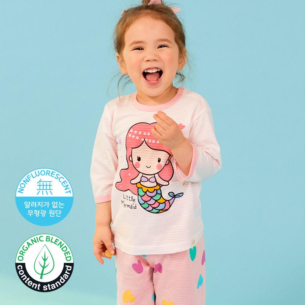 TTASOM - BRAND - Korean Children Fashion - #Kfashion4kids - Heart Mermaid Easywear
