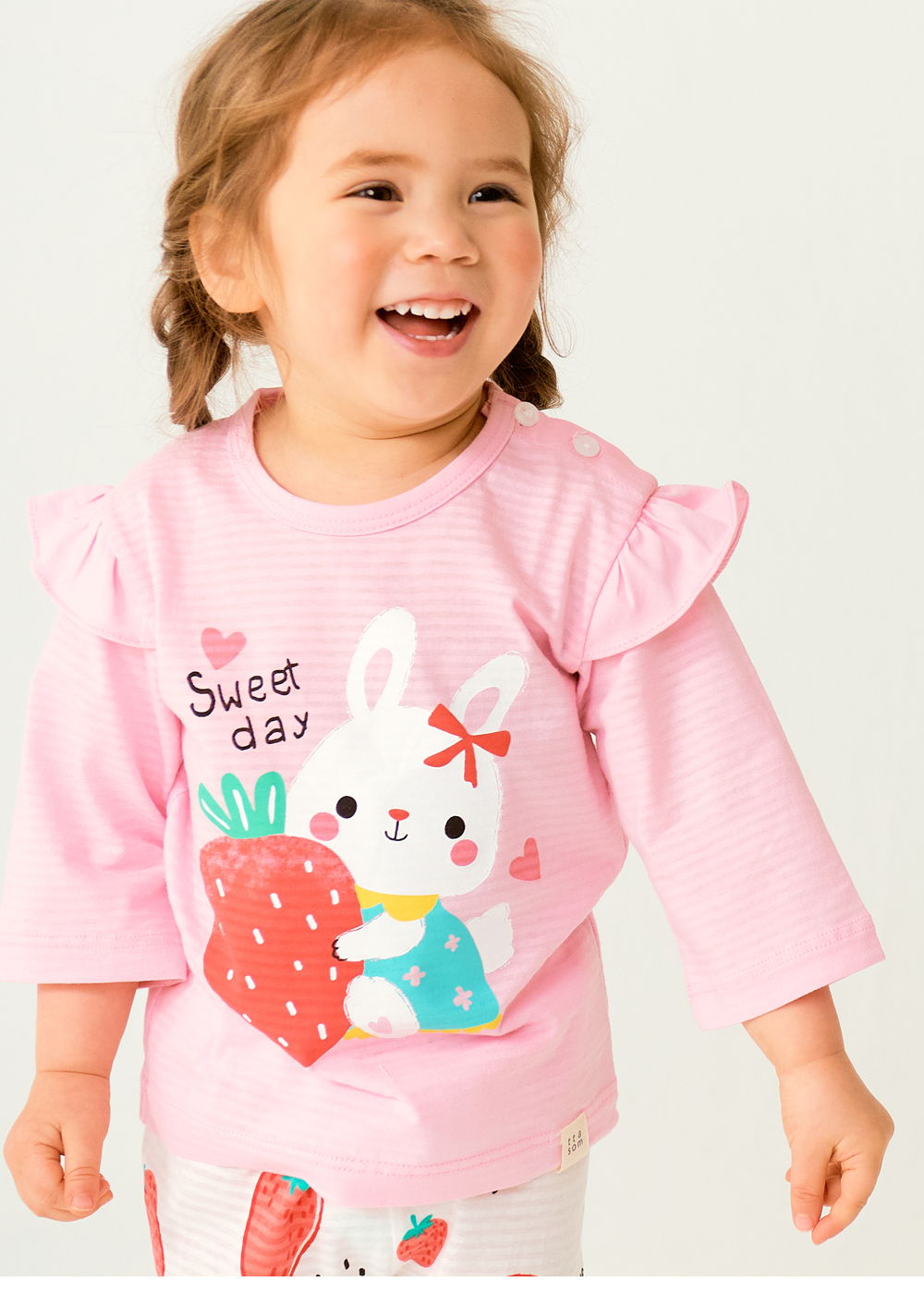 TTASOM - Korean Children Fashion - #Kfashion4kids - Sweet Day Easywear - 3