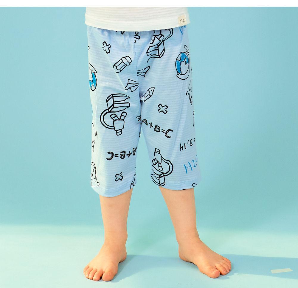 TTASOM - Korean Children Fashion - #Kfashion4kids - Scientist Dinosaur Easywear - 4