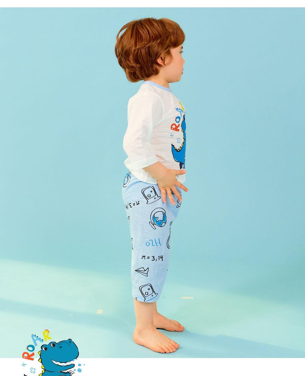 TTASOM - Korean Children Fashion - #Kfashion4kids - Scientist Dinosaur Easywear - 6