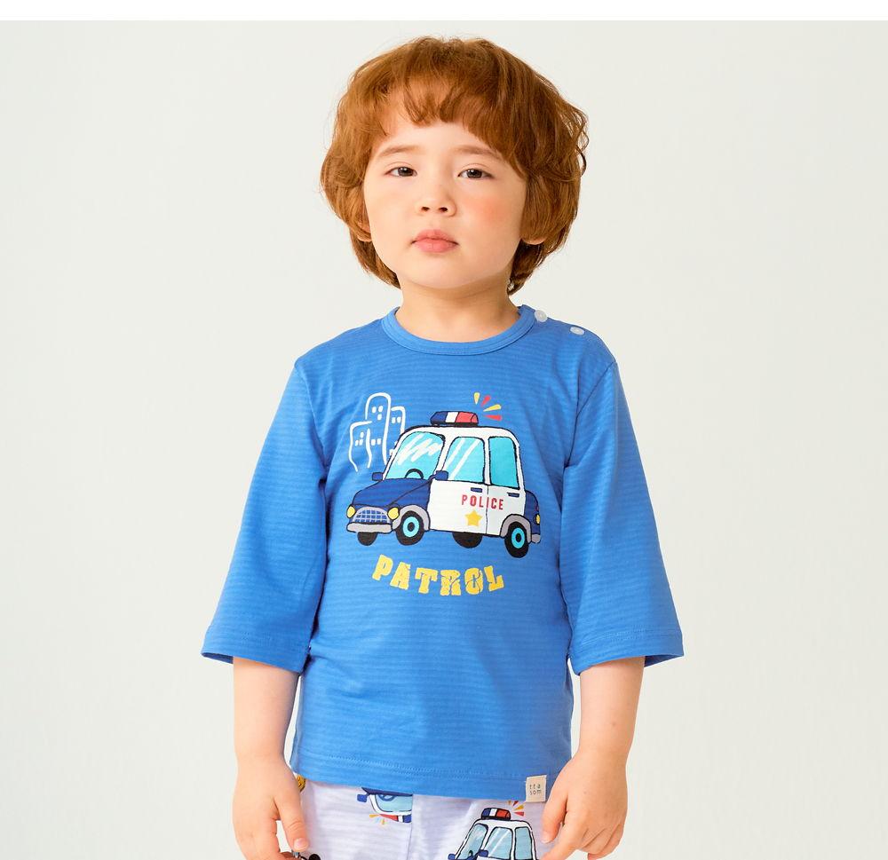 TTASOM - Korean Children Fashion - #Kfashion4kids - Police Car Easywear - 4