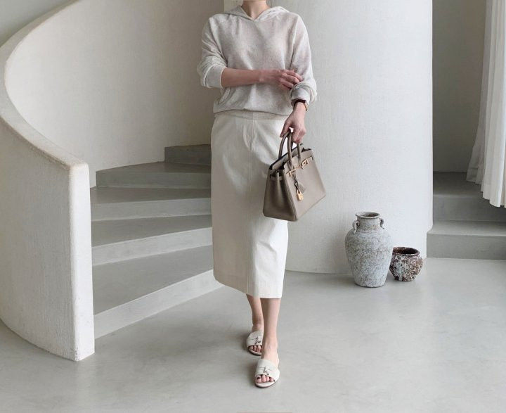 AFTERGLOW - BRAND - Korean Children Fashion - #Kfashion4kids - Diagonal Straight Skirt