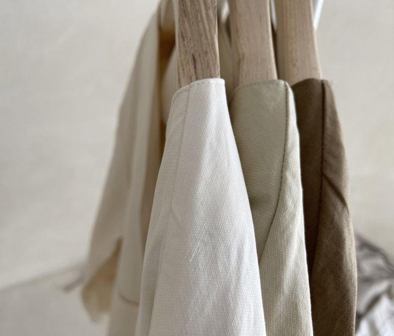 AFTERGLOW - Korean Women Fashion - #Kfashion - Page Linen Jacket - 3