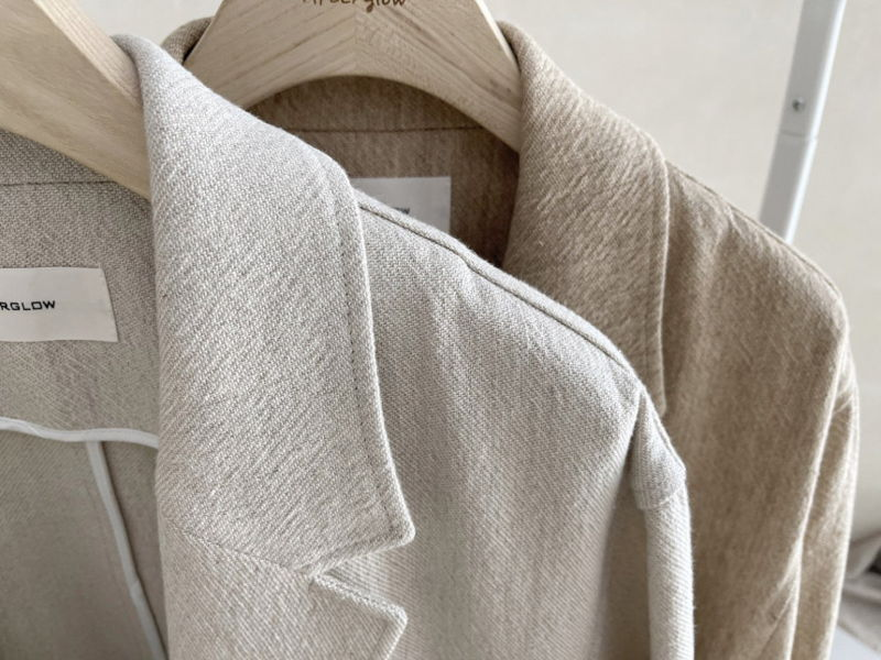AFTERGLOW - Korean Women Fashion - #Kfashion - Ludia Linen Jacket - 4