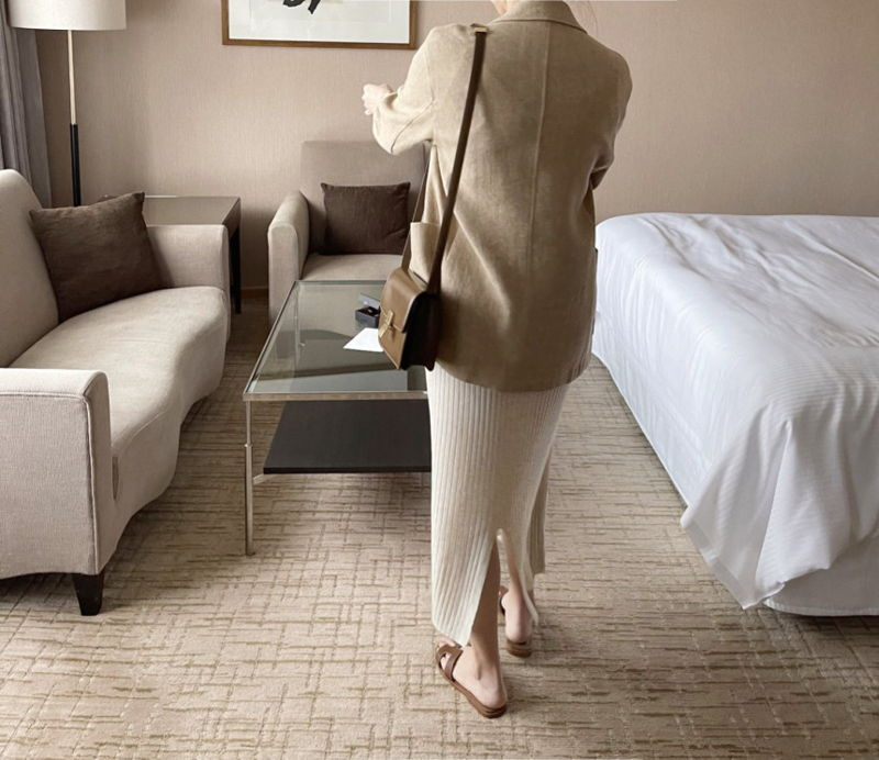 AFTERGLOW - Korean Women Fashion - #Kfashion - Ludia Linen Jacket - 8