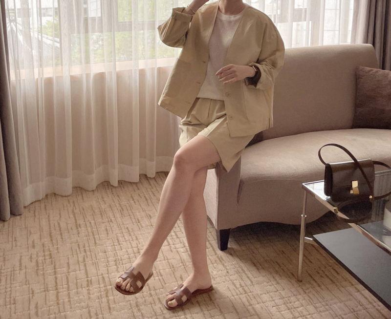 AFTERGLOW - Korean Women Fashion - #Kfashion - Page Linen Short Pants - 3