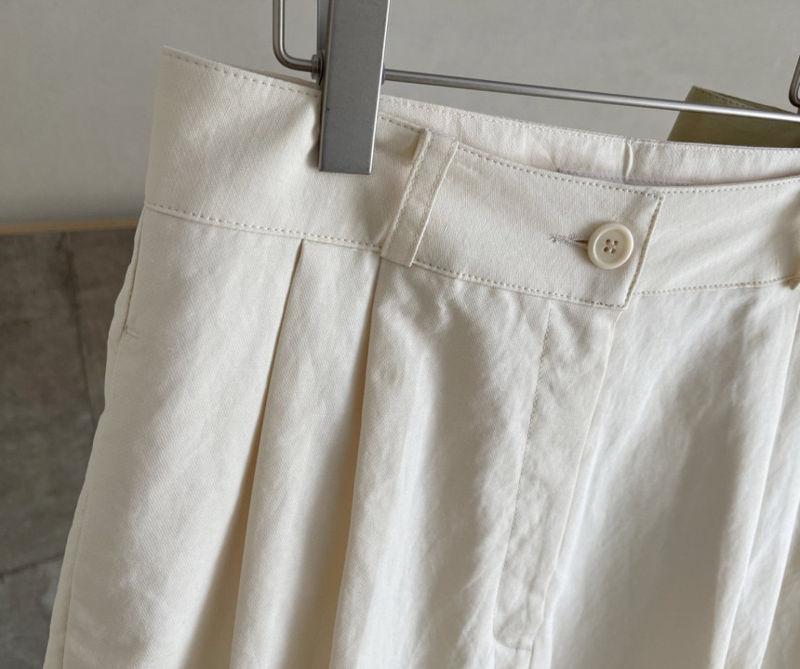 AFTERGLOW - Korean Women Fashion - #Kfashion - Page Linen Short Pants - 6