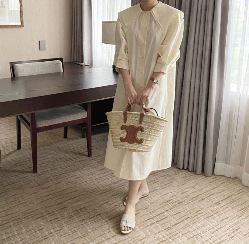 AFTERGLOW - Korean Women Fashion - #Kfashion - Sailor Collar One-piece - 6