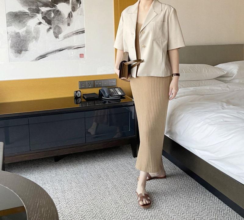 AFTERGLOW - Korean Women Fashion - #Kfashion - The Cash Short Jacket - 10