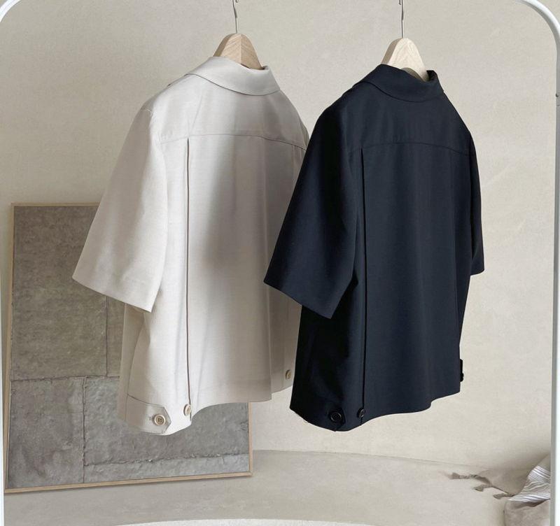 AFTERGLOW - Korean Women Fashion - #Kfashion - The Cash Short Jacket - 2