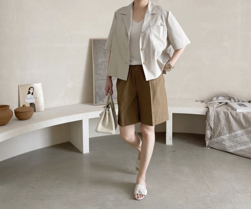 AFTERGLOW - Korean Women Fashion - #Kfashion - The Cash Short Jacket - 4