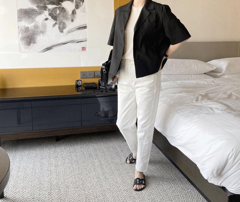 AFTERGLOW - Korean Women Fashion - #Kfashion - The Cash Short Jacket - 5