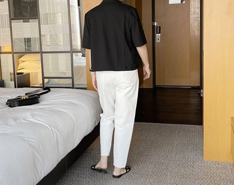 AFTERGLOW - Korean Women Fashion - #Kfashion - The Cash Short Jacket - 6